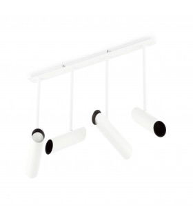 Suspension blanche Link 4 ampoules