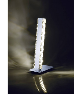 Lampe de Table Galaxy 3W LED 4000K chrome poli/cristal