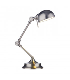 Lampe de table Ranger chrome satiné 1 ampoule