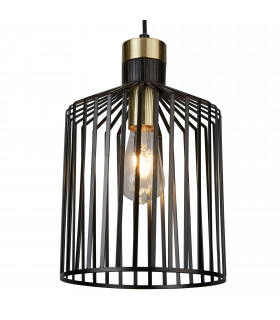 Suspension Bird Cage, noir, 22 cm